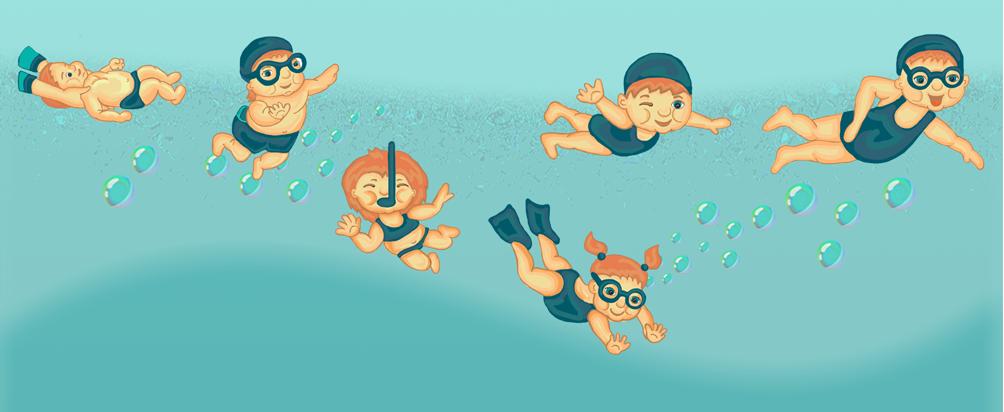 свои картинки гифы плавающие детки это небольшой